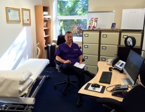 M J Murgatroyd Registered Osteopath UBC premises